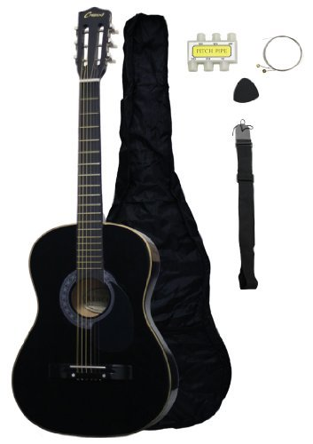 Review of MG38-BK 38 inches Acoustic Guitar Starter Package