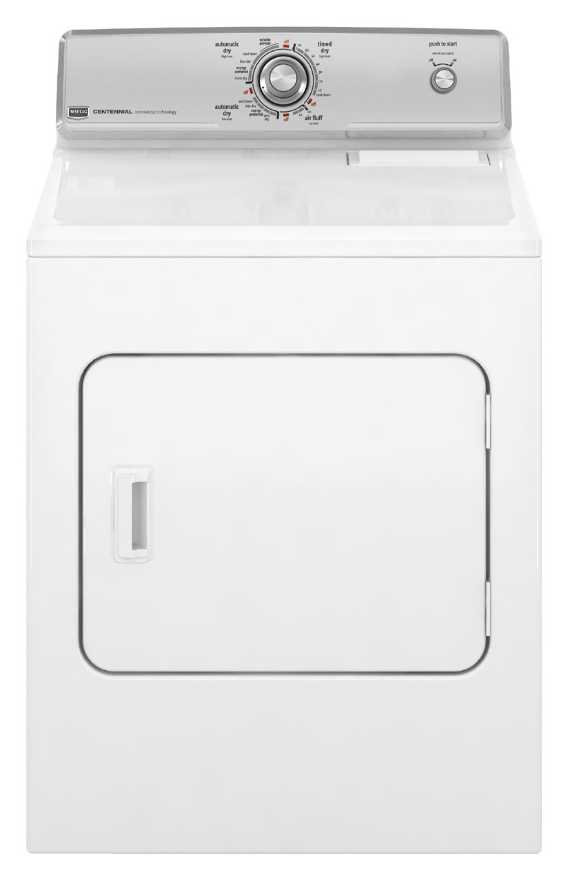 Review of Maytag 7 cu ft Electric Dryer (White) (Model: MEDC200XW)