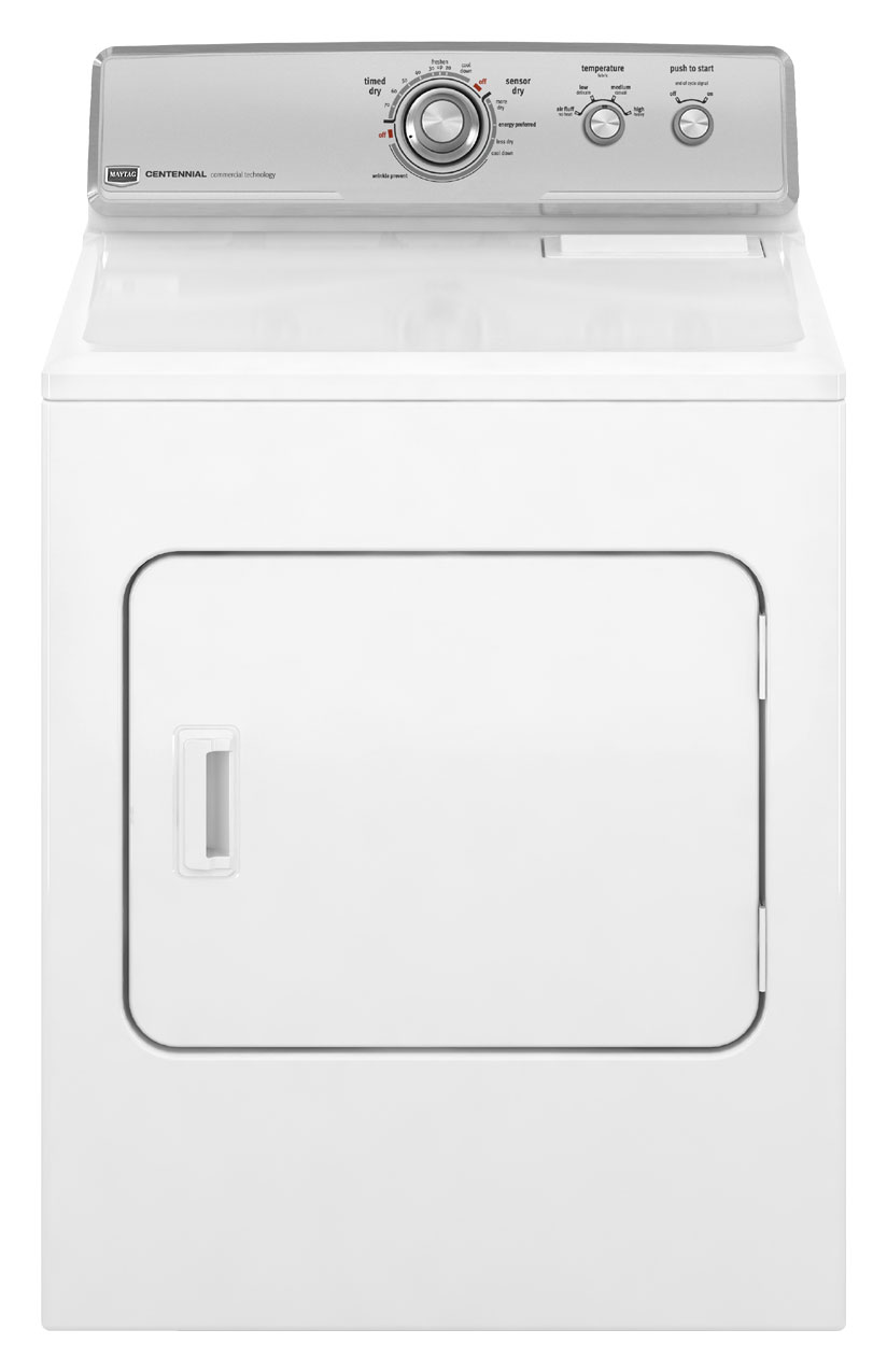 Maytag Centennial 7 cu ft Electric Dryer (White) (Model: MEDC300XW)