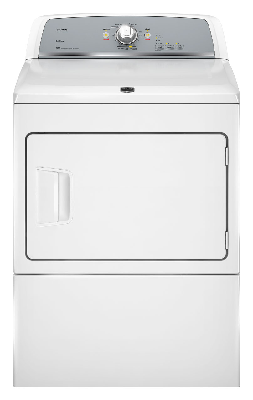 Maytag Bravos X High-Efficiency Electric Dryer (Model: MEDX500XW)