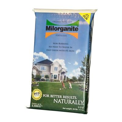 Milorganite 36 Lb Organic Nitrogen Fertilizer