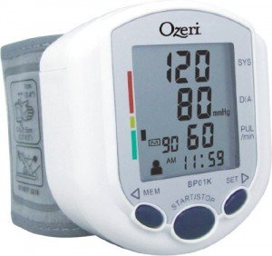 Review of Ozeri CardioTech Pro Series Digital Blood Pressure Monitor (Model BP01K)