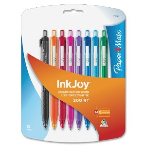 Review of Paper Mate InkJoy 300 RT Retractable Medium Point Ballpoint Pens
