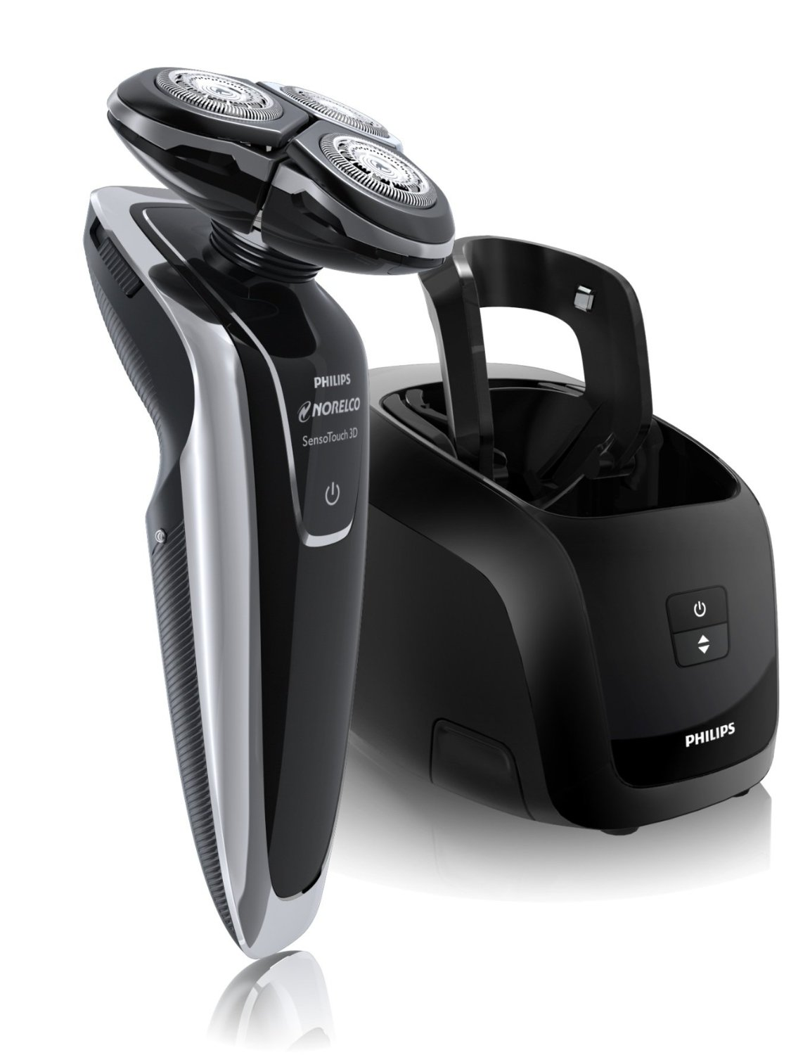 Philips Norelco 1280X SensoTouch 3D Electric Razor with Jet Clean System
