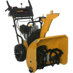 Review of Poulan PRO 24 in. Two-Stage Electric Start Gas Snow Blower (Model: PR624ES)