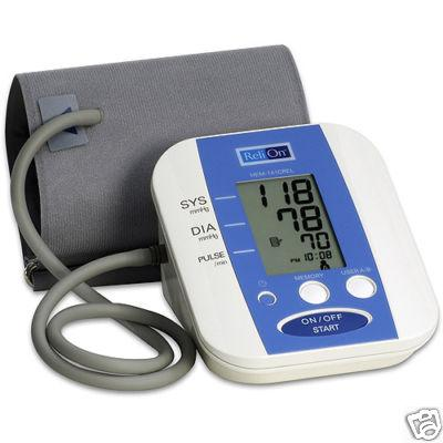 Review of ReliOn Auto Inflate Digital Blood Pressure Monitor