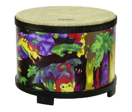 Review of Remo Kids Percussion, Floor Tom, 10 Diameter with Mallet, Rain Forest Fabric