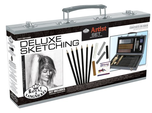 Review of Royal & Langnickel Deluxe Sketching Artist Box Set