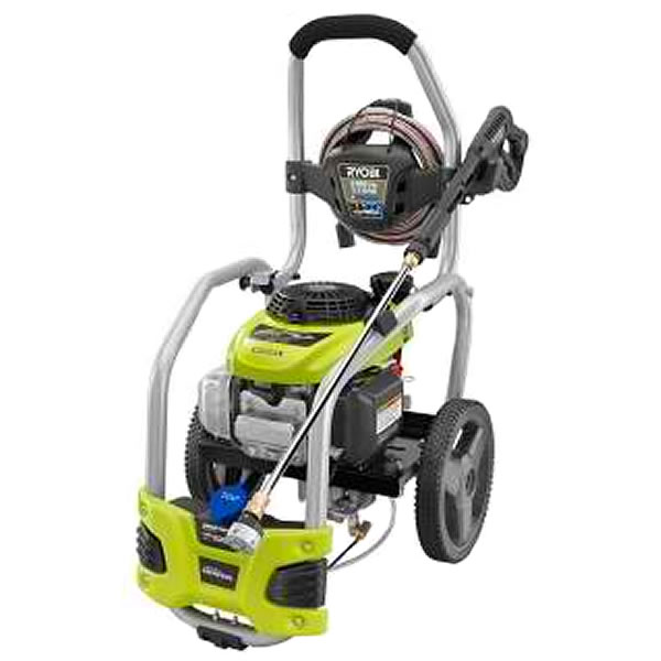 Review of Ryobi 3100-PSI 2.5-GPM Honda Engine Gas Pressure Washer with Idle Down (Model: RY80940)