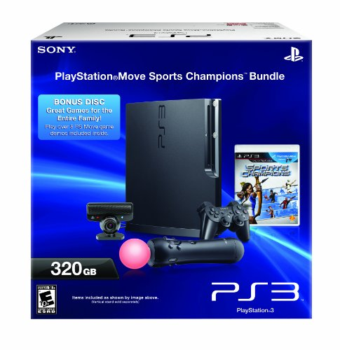 Review of PlayStation 3 - 320 GB System/PlayStation Move Bundle