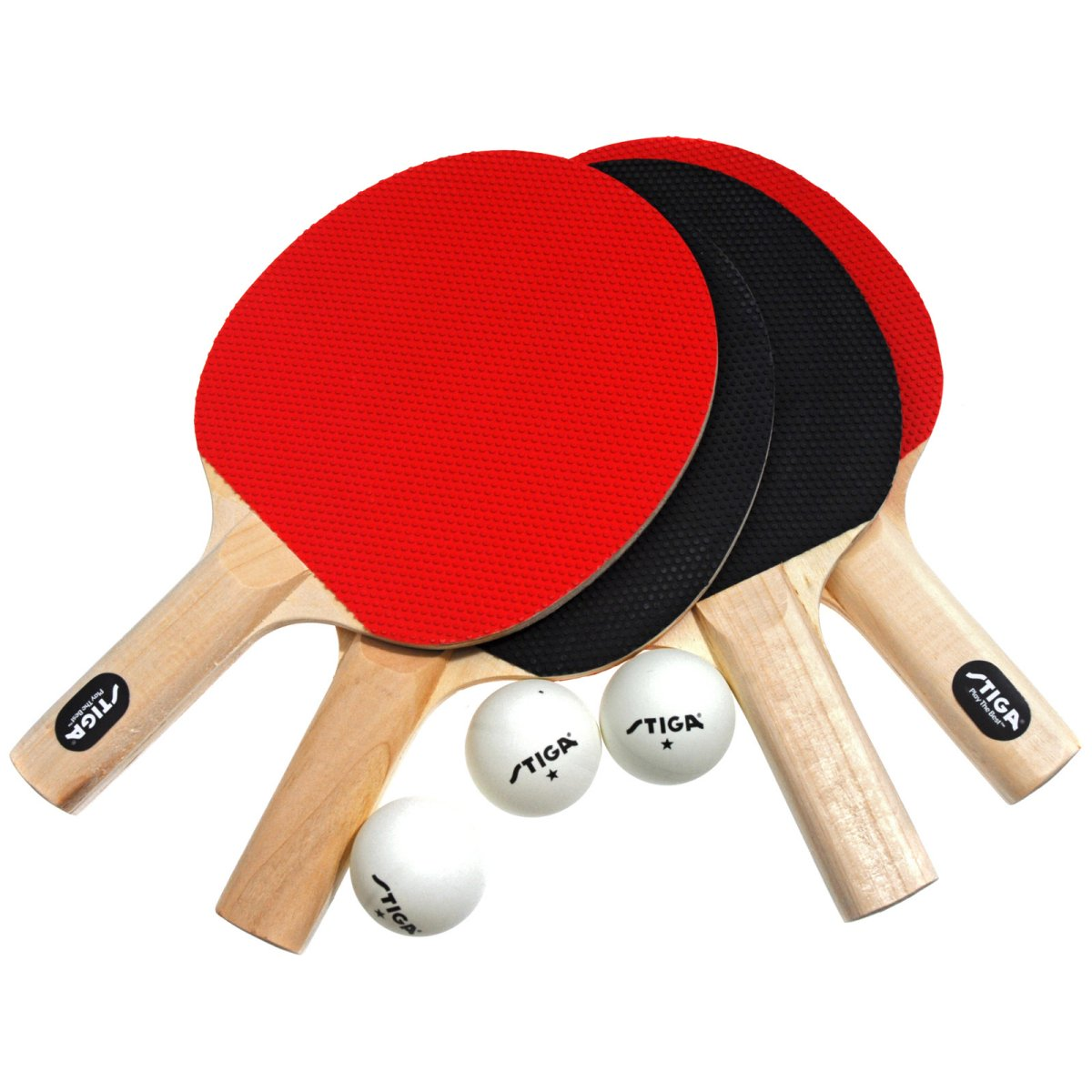 Stiga Classic 4-Player Table Tennis Racket Set