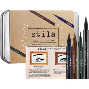 Review of stila Stay All Day Waterproof Liquid Eye Liner, Intense Black