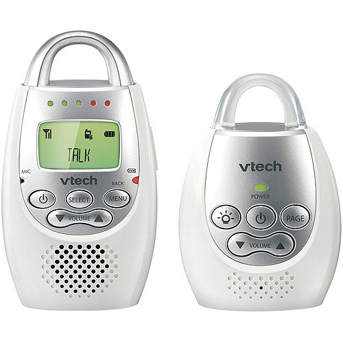 VTech - Safe and Sound 1.9 GHz Digital Audio Baby Monitor, DM221
