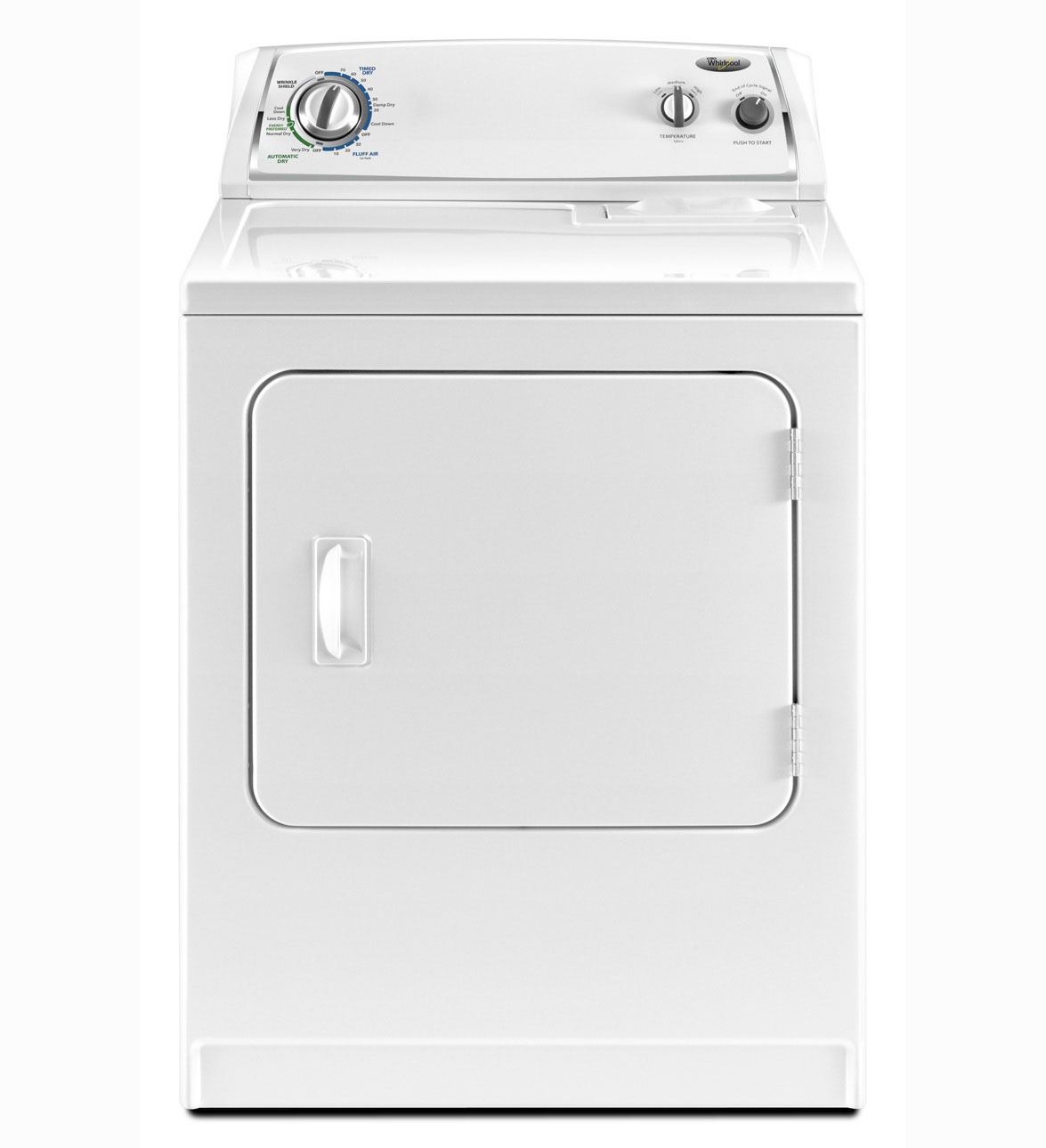 Whirlpool 7 cu ft Electric Dryer (White) (Model: WED4800XQ)