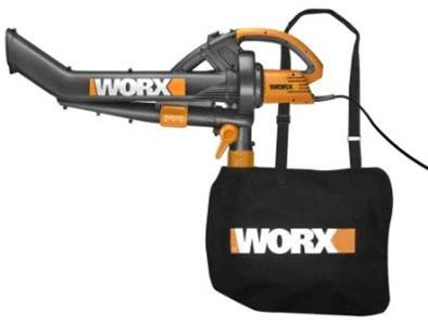 Worx TRI-VAC - Electric Vac Mulcher Blower (Model: WG500)