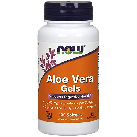 Review of Aloe Vera Gels, 10000mg,100 Softgels