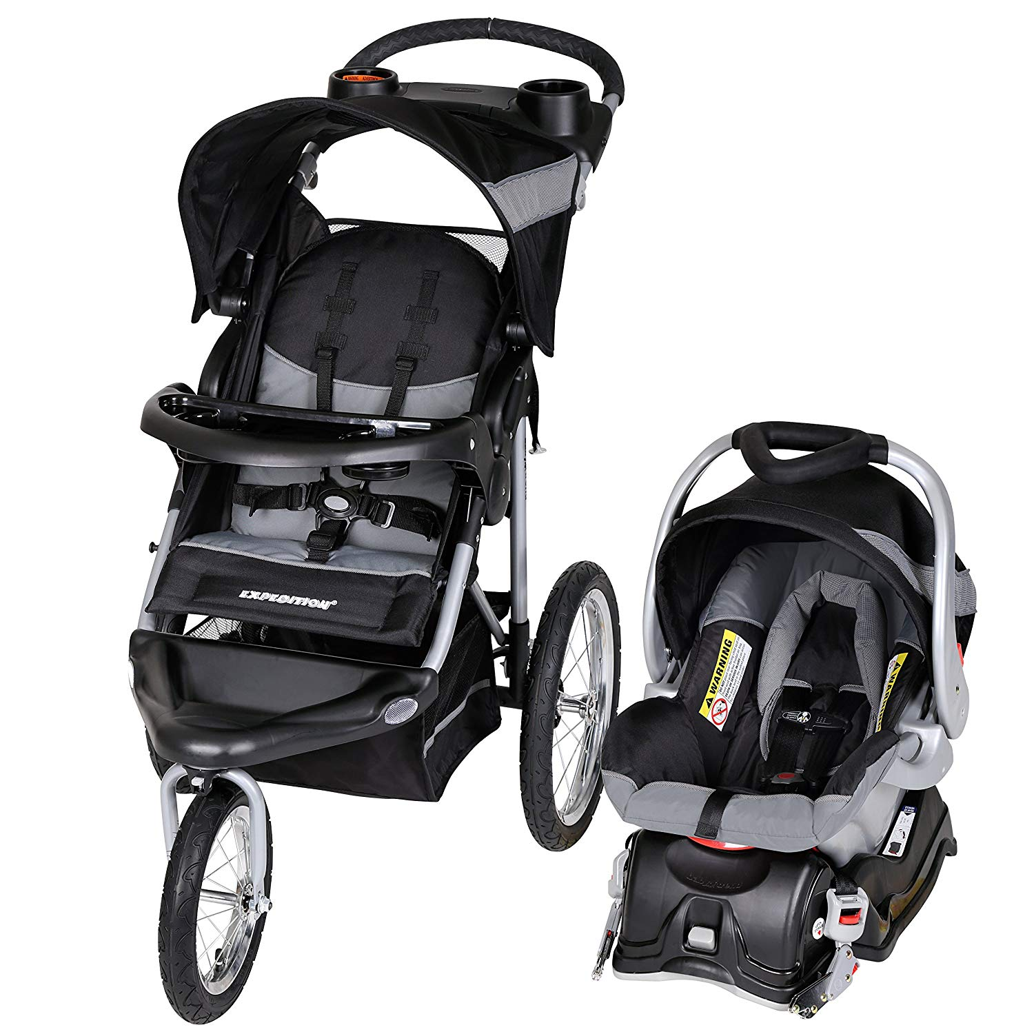 Review of Baby Trend Expedition Jogger Travel System, Millennium White