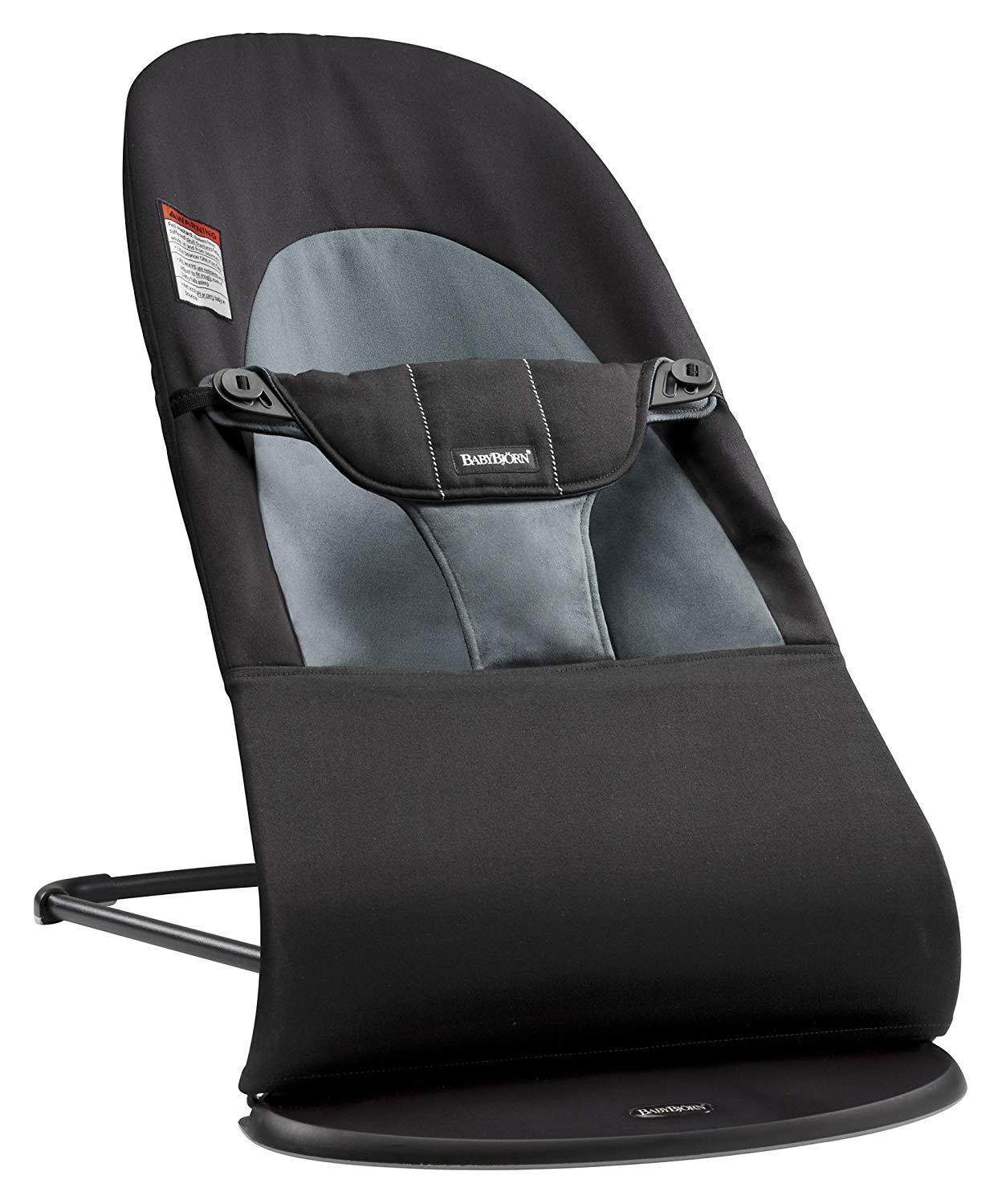 Review of BABYBJORN Bouncer Balance Soft, Cotton, Black/Dark Gray