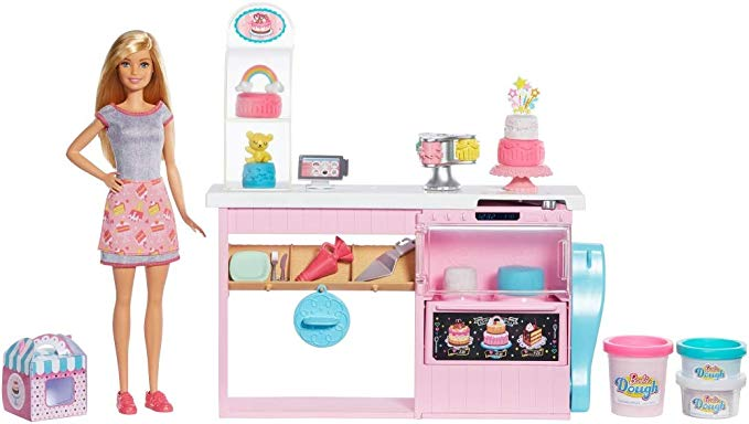 Review of Barbie Cake Decorating Playset
