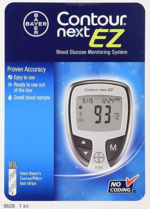 Review of Bayer Contour Next Ez Blood Glucose Monitoring Kit