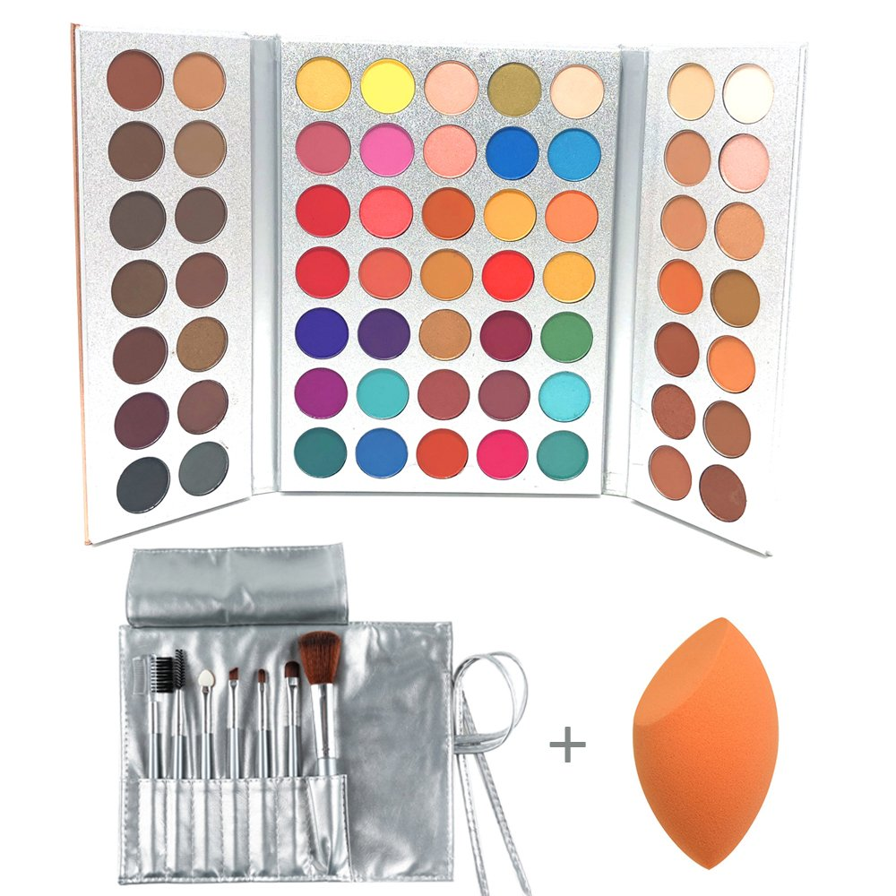 Review of Beauty Glazed 63 Colors Eyeshadow Professional Makeup 63 Colors EyeShadow Palette Powder