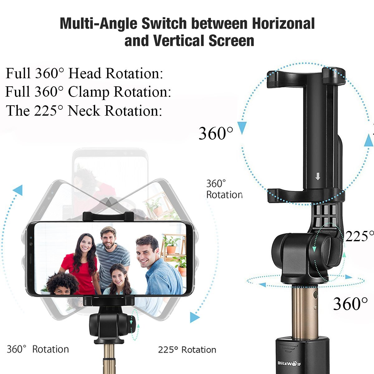Review of Bluetooth Selfie Stick Tripod with Wireless Remote by BlitzWolf