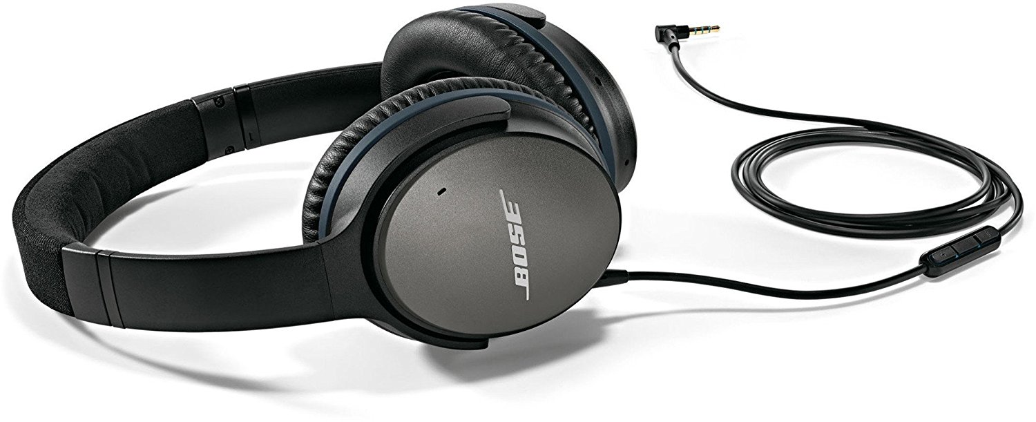 Review of Bose QuietComfort 25 Acoustic Noise Cancelling Headphones for Apple devices - Black (wired, 3.5mm)