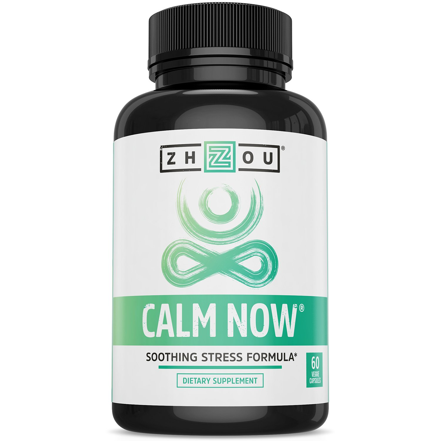 CALM NOW Soothing Stress Support Supplement, Herbal Blend Crafted To Keep Busy Minds Relaxed