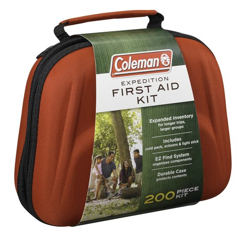 Review of Coleman Expedition First Aid Kit - 200 Items