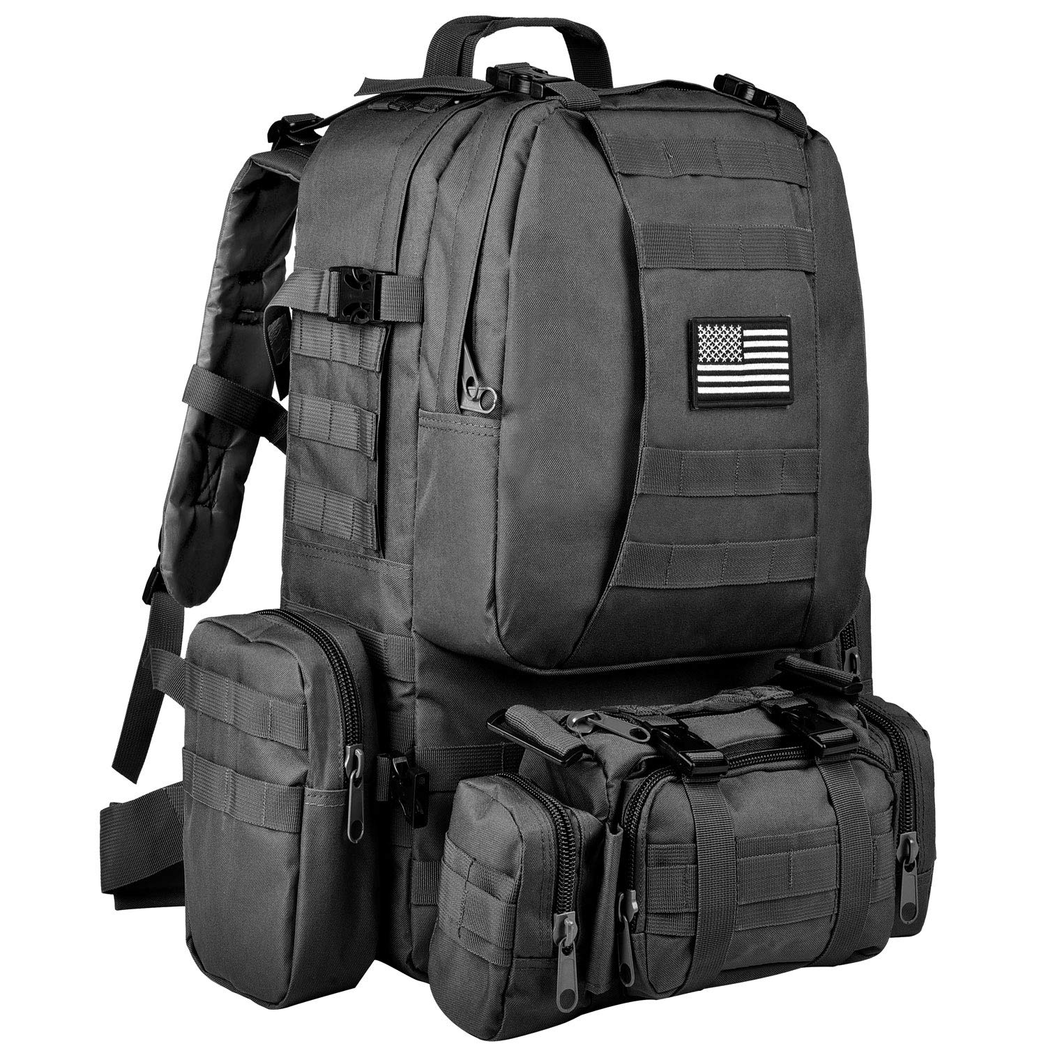 Review of CVLIFE Outdoor 60L Built-up Military Tactical Backpack Army Rucksacks 3 Day Assault Pack