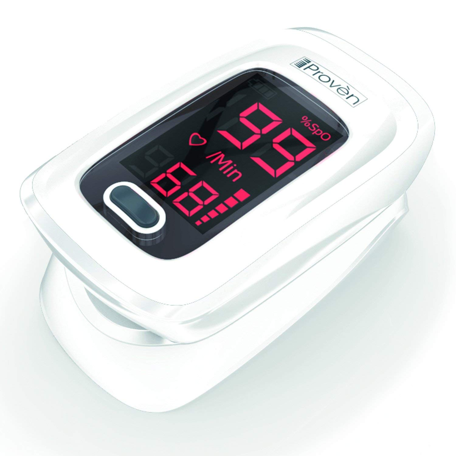 Review of Heart Rate Monitor & Blood Oxygen Meter Oximeter OXi-27 White