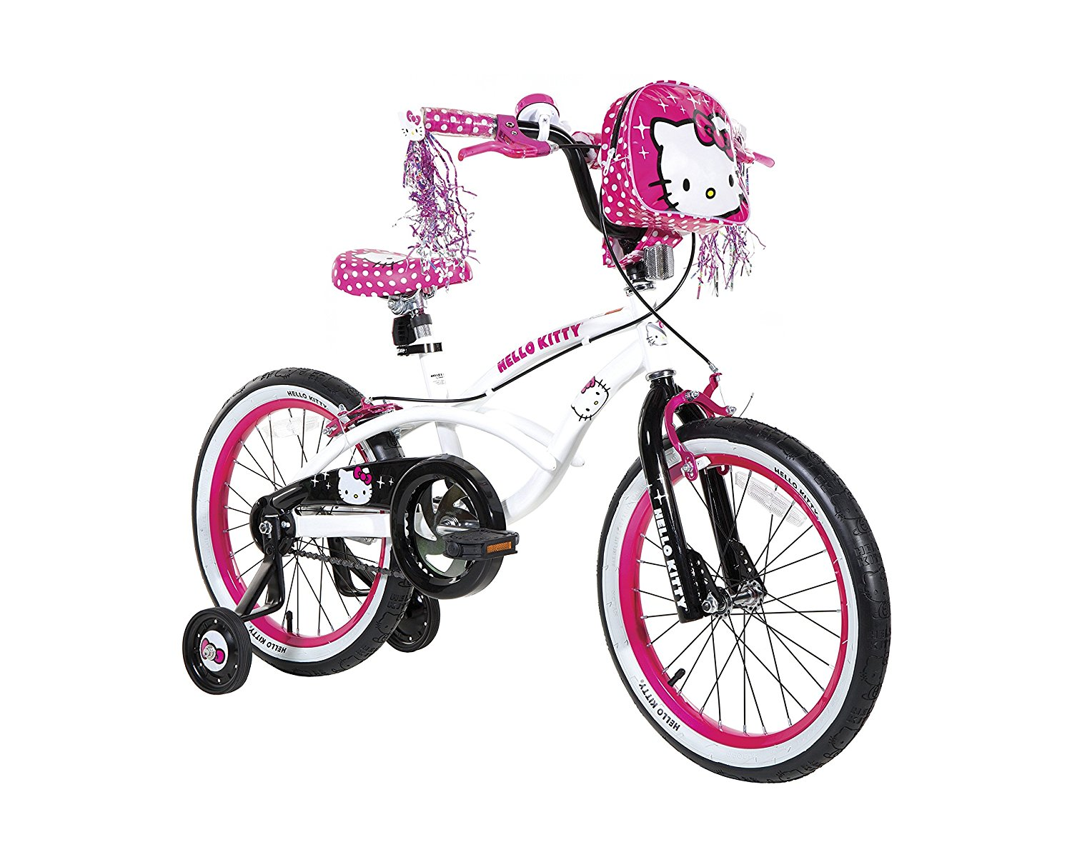 Review of Dynacraft Hello Kitty Girls BMX Street Bike 18