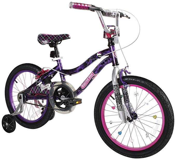 Dynacraft Monster High Girls BMX Street/Dirt Bike 18