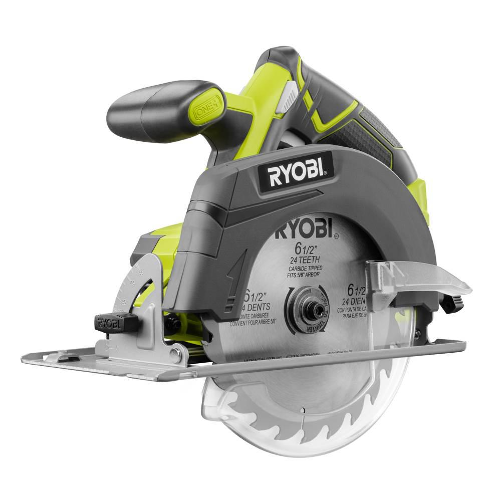 Review of Exclusive RYOBI 18-Volt ONE+ Cordless 6-1/2 in. Circular Saw (Tool Only)