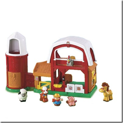 Review of Fisher-Price Little People Animal Sounds Farm
