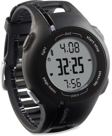 Review of Garmin Forerunner 210 GPS-Enabled Sport Watch with Heart Rate Monitor and Foot Pod