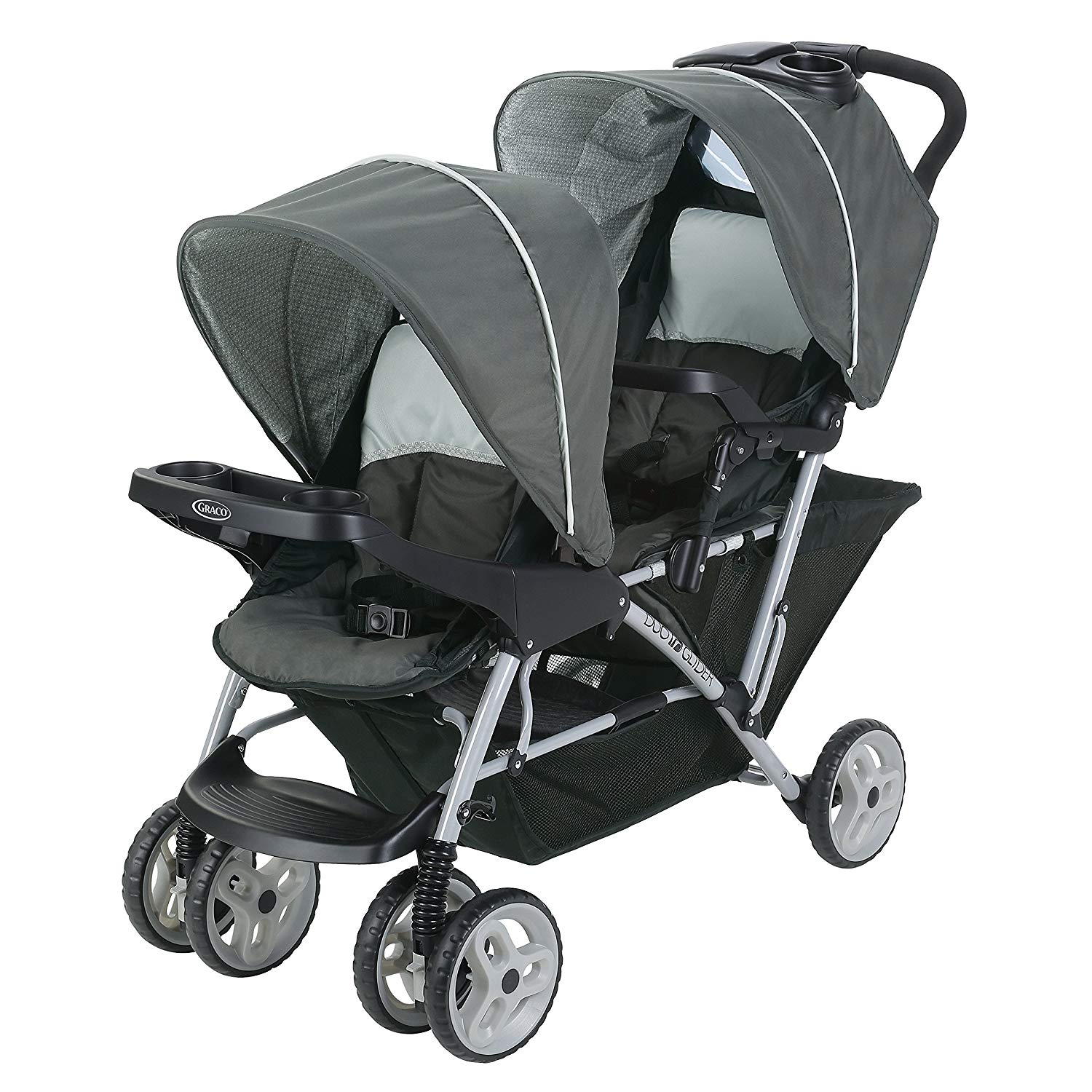 Graco DuoGlider Double Stroller | Lightweight Double Stroller with Tandem Seating