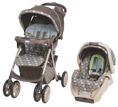 Review of Graco Spree Travel System, Barcelona Bluegrass