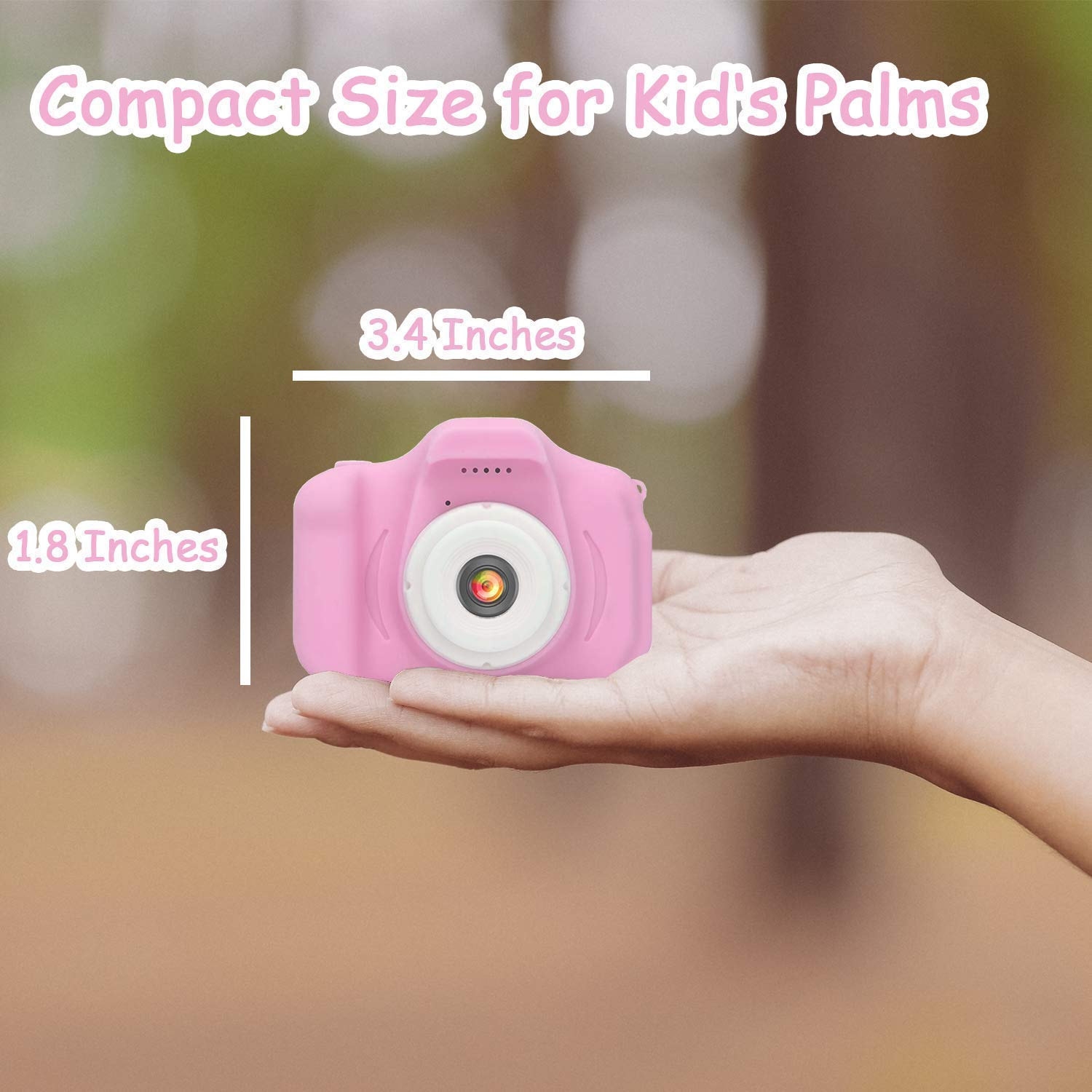 Review of Hachi's Choice Gift Kids Camera Toys for 3-9 Year Old Girls