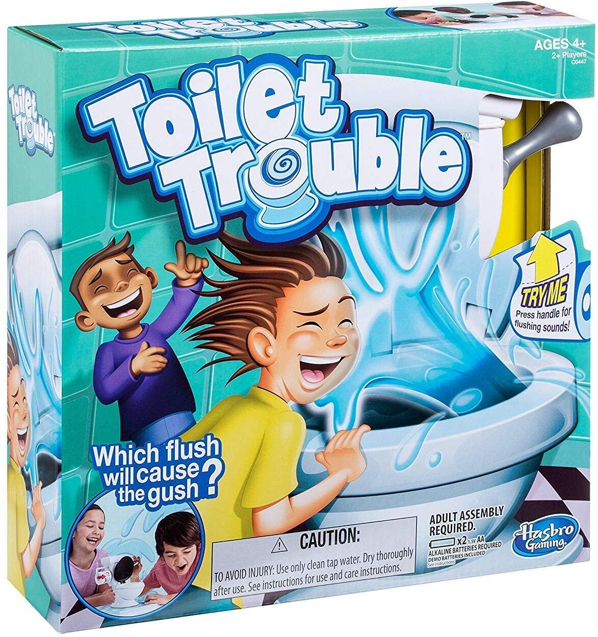 Review of Hasbro Games Toilet Trouble