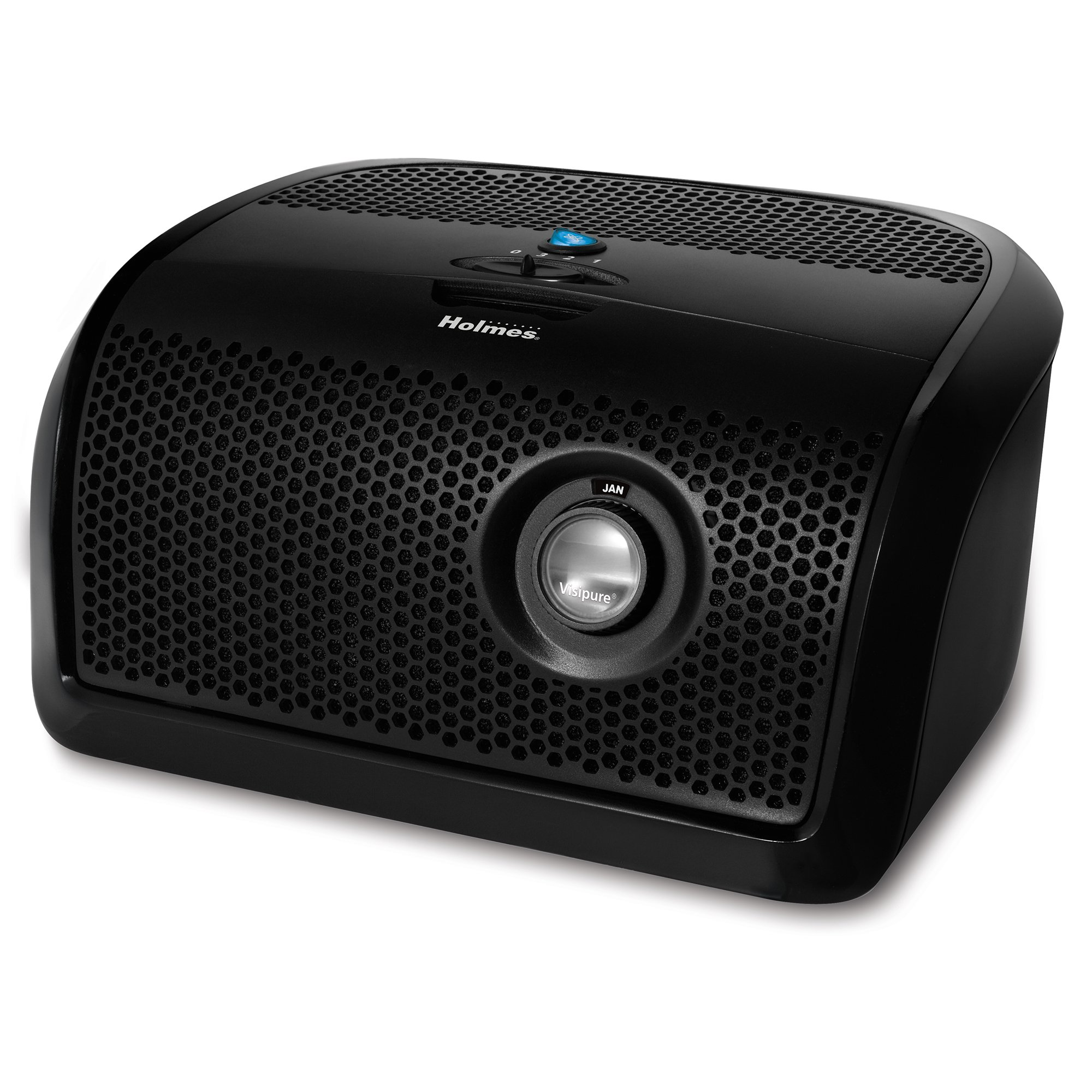 Review of Holmes Desktop HEPA Air Purifier with Visipure Filter Viewing Window