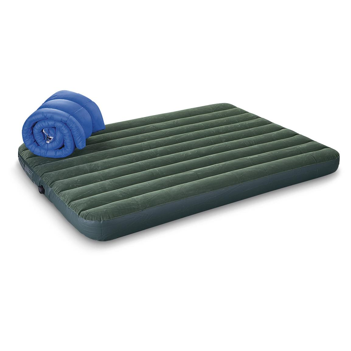Review of Intex Camp Air Bed with Pump