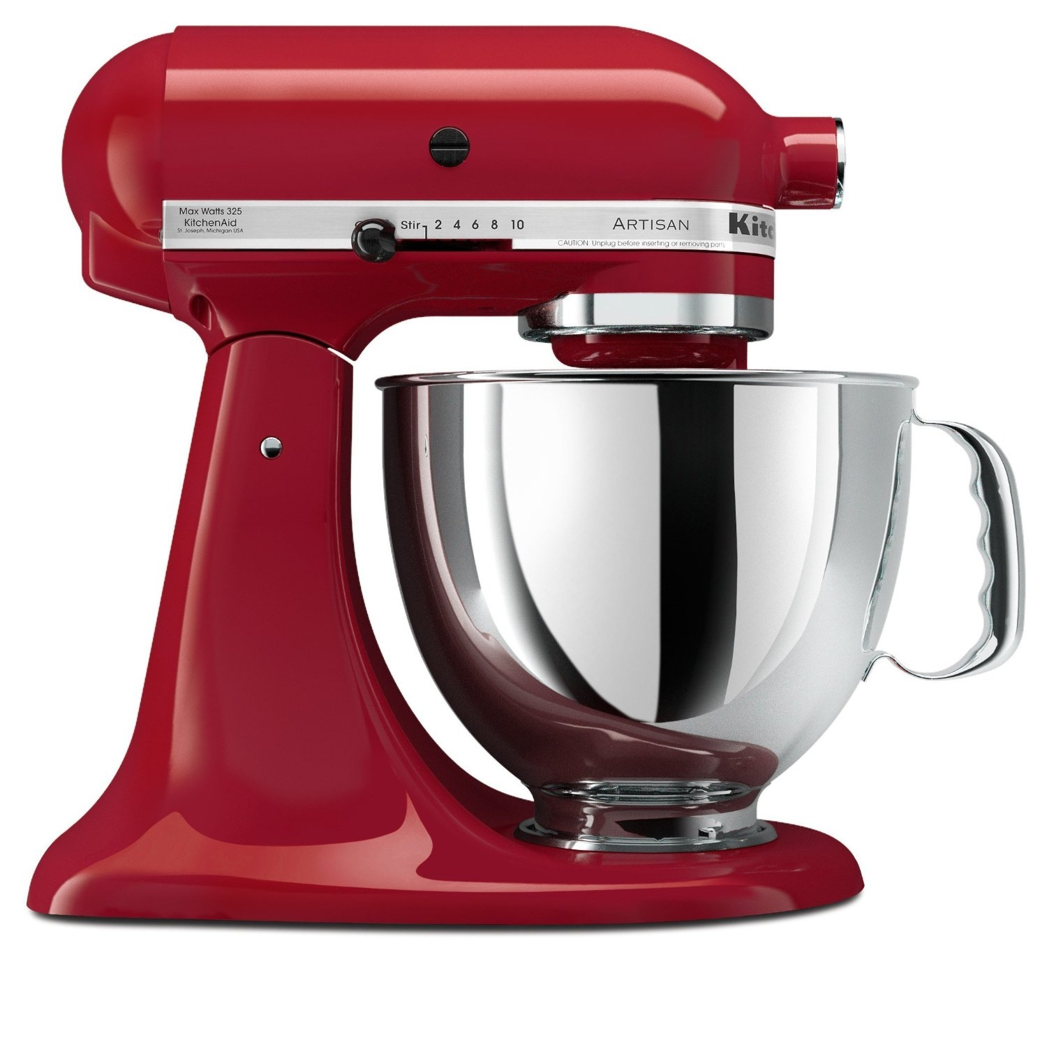 Review of KitchenAid Artisan Series 5-Quart Stand Mixer, KSM150PS - Series