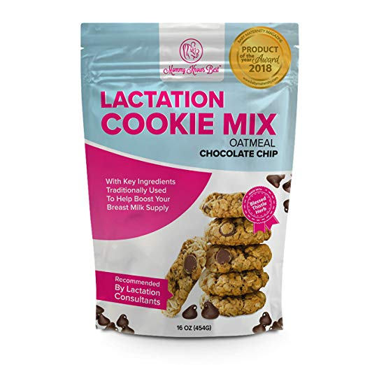 Lactation Cookies with Blessed Thistle - Lactation Cookie Mix Formulated for Breastfeeding Mothers