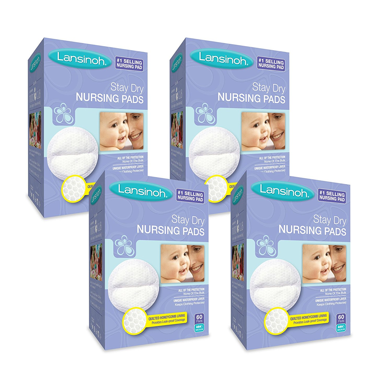 Review of Lansinoh Nursing Pads -  Disposable Breast Pads