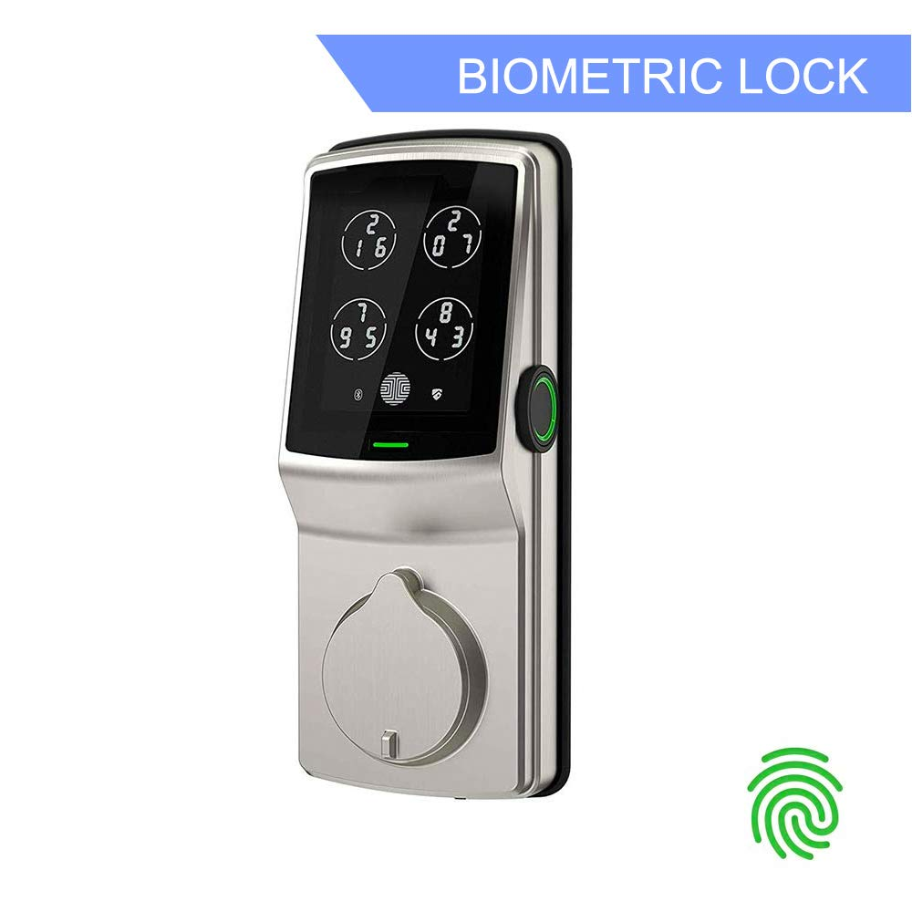 Review of Lockly Bluetooth Keyless Entry Smart Door Lock (PGD728F SN) Patented Keypad Deadbolt Lock
