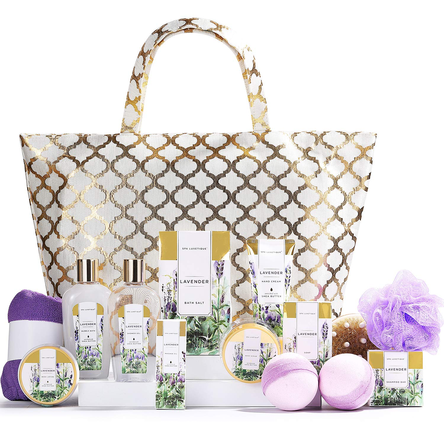 Luxetique Spa Gift Basket, Gift Set for Women