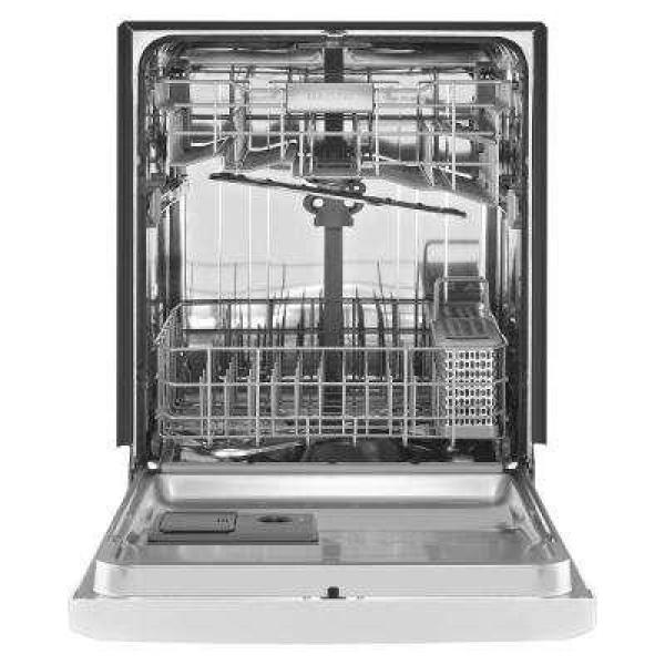 Maytag Front Control Built-In Tall Tub Dishwasher in Fingerprint Resistant Stainless Steel, 50 dBA (Model #MDB4949SHZ)
