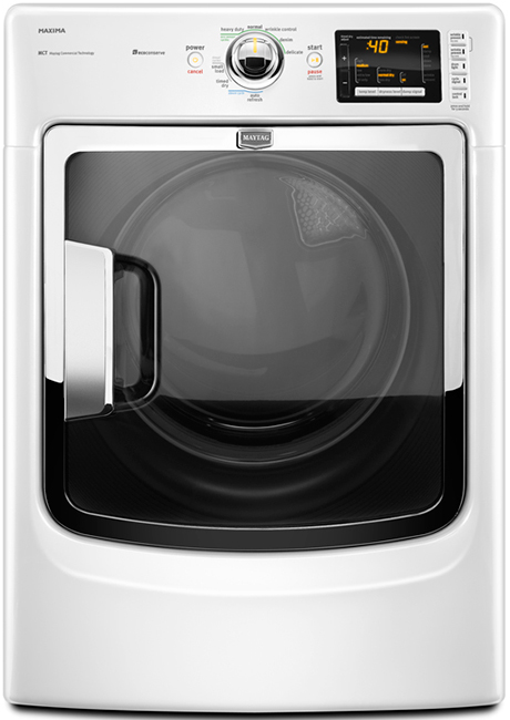 Review of Maytag 7.4 cu ft Electric Dryer (Model: MED6000XW and MED6000XG)