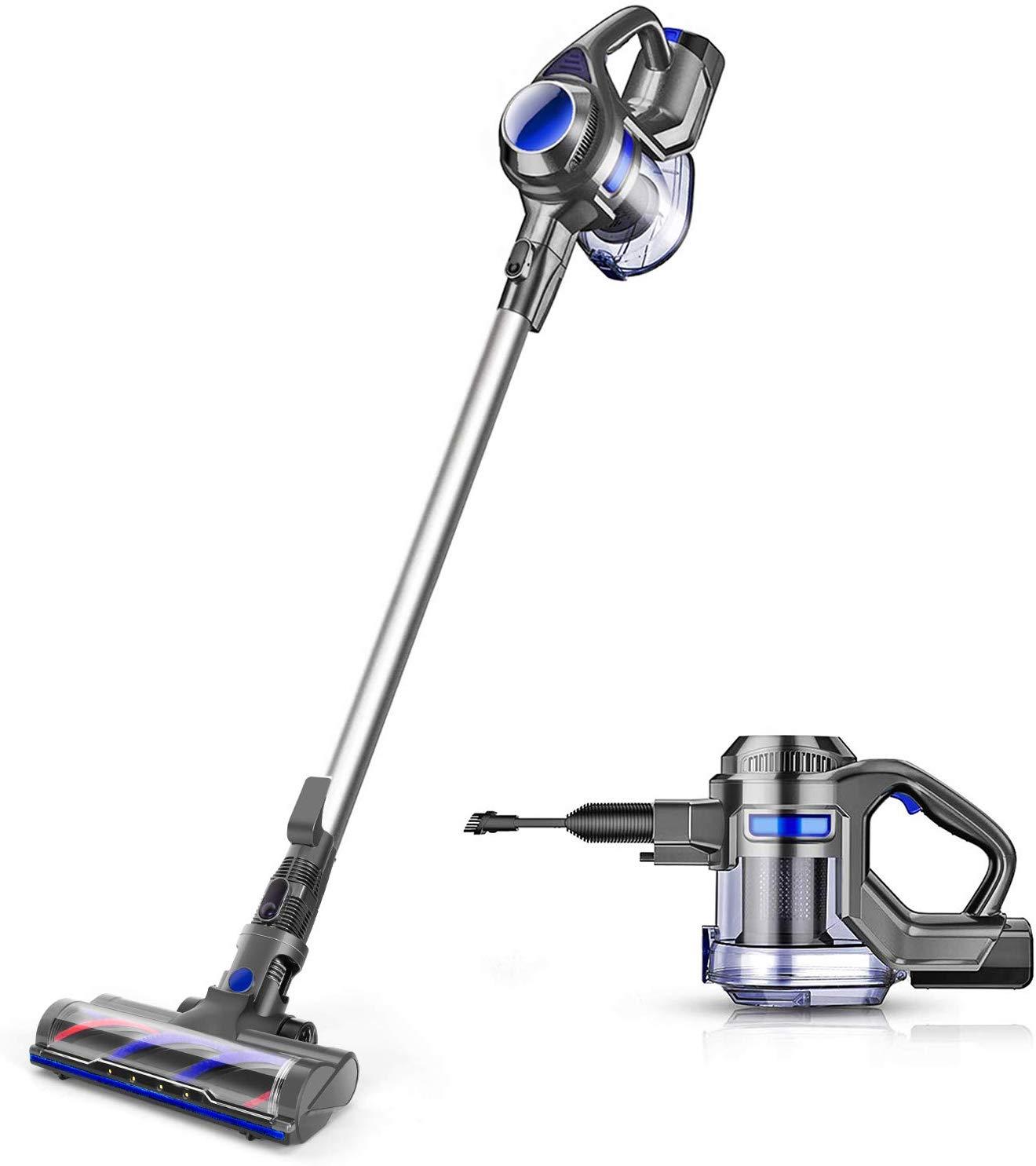 Review of MOOSOO Cordless Handheld Vacuum Cleaner- XL-618A